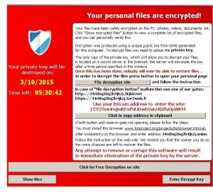 Cryptolocker rancon virus